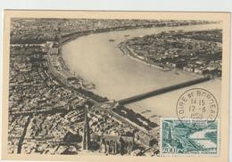 Carte-Maximum FRANCE N° Yvert PA 25 (BORDEAUX) Obl Sp Foire De Bordeaux (Ed Hébé) - 1950-59