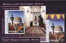 Romania, 2013, Architecture, Mosque, 1 Stamp, Block - 1948-.... Repúblicas