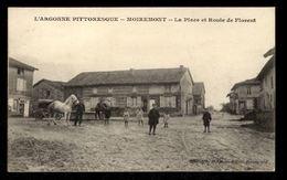 51 -  MOIREMONT (Marne) - La Place Et Route De Florent - Otros Municipios