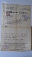 S0505 Austria - Österreich -  Geburst Und Taufschein  GLOGGNITZ  N.Ö.  Von 1919, Mit Stempelmarke  2 Kronen  -Nowotny - Nacimiento & Bautizo