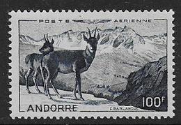 ANDORRE - P.A. N° 1* - Cote : 62 € - Luftpost