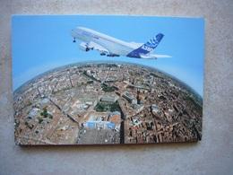 Avion / Airplane / AIRBUS A380 / Carnet De 6 Cartes - 1946-....: Era Moderna