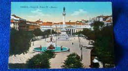 Lisboa Praca D. Pedro IV Portugal - Lisboa