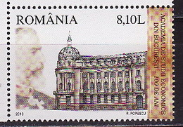 Romania, 2013, Architecture, 1 Stamp - 1948-.... Repúblicas