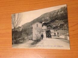 THORENC -depart Du Courrier ( Carte Toilée )   PORT OFFERT - Francia