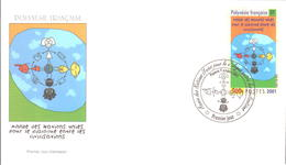 Polynésie FDC N° 651 - FDC