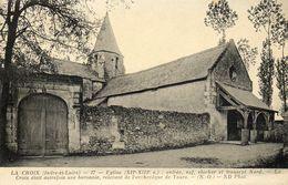 - LA CROIX - Entrée, Nef De L'Eglise   -4362- - Bléré