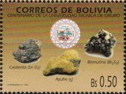 Bolivia 1992 CEFIBOL 1441 ** Centenario De La Universidad Técnica De Oruro. - Bolivia