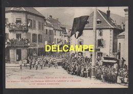 DD / GUERRE 1914 - 18 / VOSGES SAINT-DIÉ / REVUE DU 28 MAI 1919 / PÉTAIN, GOURAUD, JACQUOT ... / ANIMÉE - Guerre 1914-18