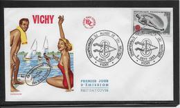 Thème Ski Nautique - Jeux Olympiques - Sports - Enveloppe - Water-skiing