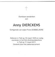 A.DIERCKENS °TIELT 1935 (F.DOBBELAERE) - Religion & Esotericism