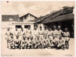 Commando Cholon Militaire Gde Photo Phuong Viet Nam Indochine Commandos Vietnam - Guerre, Militaire