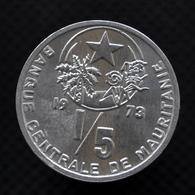 Mauritania 1/5 Ouguiya (1 Khoum). 1973. KM1. Uncirculated Coin - Mauritanie