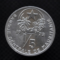 Mauritania 1/5 Ouguiya (1 Khoum). 1973. KM1. Uncirculated Coin - Mauretanien