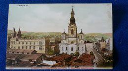 Sarajevo Serbische Kirche Und Blick In Die Franz Josephstrasse Bosnia And Herzegovina - Bosnia Erzegovina