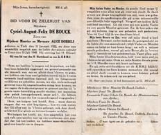 C.DOBBELS °TIELT 1922 +1945 (A.DOBBELS) - Religion & Esotericism