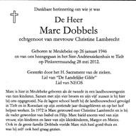 M.DOBBELS °MEULEBEKE 1946 +TIELT (C.LAMBRECHT) - Religion & Esotericism
