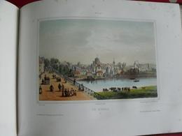 Souvenirs De Vichy. Jules César éditeur. Lodoix Enduran. Moullin. Album De 20 Lithographies Couleurs. - Centre - Val De Loire