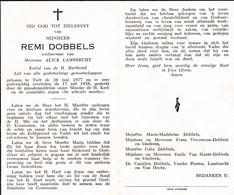 R.DOBBELS °TIELT 1877 + 1958 (A.LAMBRECHT) - Religion & Esotericism