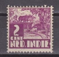 Nederlands Indie Dutch Indies 187 Used ; Karbouw 1934 No Watermark Netherlands Indies PER PIECE - Nederlands-Indië