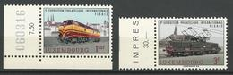 Luxembourg - 1966 Locomotive MNH** - 4706 - Unused Stamps