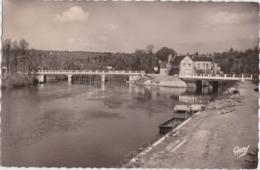 Bu - Cpsm Petit Format BAUD (Morbihan) - Le Nouveau Pont De Pont Augan - Baud