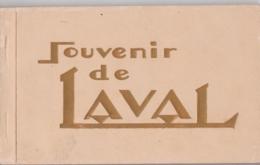 Bu - Carnet Complet De 12 Cpa Souvenir De LAVAL (Artaud, Editeur) - Laval