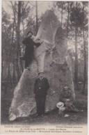 Bu - Rare Cpa St JEAN De La MOTTE (Sarthe) - Lande Des Soucis, La Pierre De Mère Et Fille - Monument Druidique - France