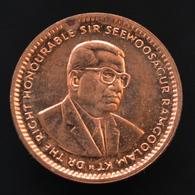 Mauritius 1 Cent 1987, Km51, EF Coin. Africa. - Mauritania