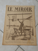 Le Miroir-la Guerre 1914-1918 -Journal N°289 - 8.6.1919 (Titres Sur Photos)Suzanne Lenglen Reine Du Tennis - War 1914-18