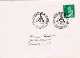 33337. Carta  BARCELONA 1979. Salon Internacional Del AUTOMOVIL - 1931-Hoy: 2ª República - ... Juan Carlos I