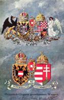 Österreich Wappen .....- Alte Karte   (ke5731  ) Siehe Scan - Austria