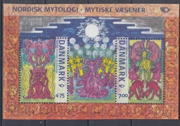 +H819. Denmark 2006. NORDEN. Mythology. Bloc. MNH(**) - Blocchi & Foglietti