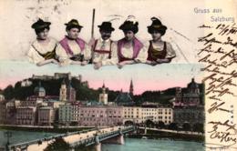 Salzburg...- Alte Karte   (ke5743  ) Siehe Scan - Austria