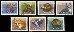 Canada (Scott No.1155-61 - Série Sue Les Mammifères / Mammal Defenitives) (o) - 1952-.... Règne D'Elizabeth II
