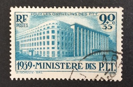 FRANCE - YT 424 - Cote: 22,50 € Bon Centrage - Used Stamps