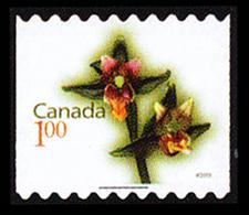 Canada (Scott No.2362 - Orchidées / 1.00 / Orchids) De Carnet / Booklet Stamp (o) - 1952-.... Règne D'Elizabeth II