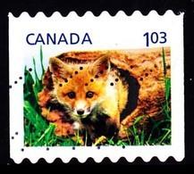 Canada (Scott No.2430 - Enfant De La Faune / Wildlife's Babys) (o) De Carnet / From Booklet - 1952-.... Règne D'Elizabeth II