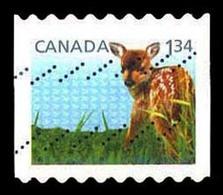 Canada (Scott No.2609 - Enfant De La Faune / Wildlife's Babys) (o) De Carnet / From BK - 1952-.... Règne D'Elizabeth II