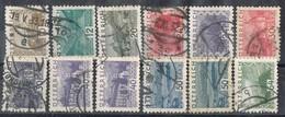 Sellos Varios AUSTRIA 1932, No Complet Shet,  Yvert 405-418 º - Usados