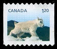 Canada (Scott No.2715 - Faune Et Leurs Bébés / Wild Animal's Babies 2014) (o) De Carnet / From Booklet - 1952-.... Règne D'Elizabeth II