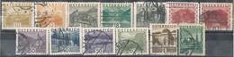 Sellos Varios AUSTRIA 1929, No Complet Shet, Alguno Variedad,  Yvert 378-389 º - Usados