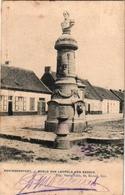 1 Postkaart  Koningshooit Koningshoyckt Beeld Van Leopold Den Eerste Anno 1909  Uitgever Vandevelde - Lier