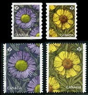 Canada (Scott No.2977-80 - Marguerite S/ Daysies) (o) - 1952-.... Règne D'Elizabeth II