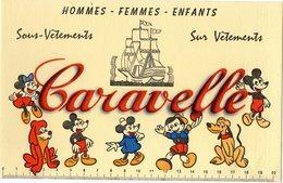 Buvards Caravelle Aevc Mickey Etat Parfait - Altri