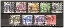 Nederlands Indie Dutch Indies 186-194 Used ; Karbouw 1934 No Watermark Netherlands Indies PER PIECE - Nederlands-Indië