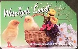 Telefonkarte Polen - Ostern - Polonia