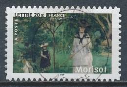 France - Les Impressionnistes - Berthe Morisot YT A75 (3867) Obl. Cachet Rond - Adhésifs (autocollants)