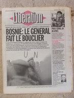 Journal Libération (15 Mars 1993) Bosnie - Prost-Senna - Le FN - Allemagne - Les écoutes - Luc Bondy - Zeitungen