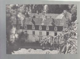 CP (16) Charras  -  Abbaye De Grosbot - Vue Aérienne - France